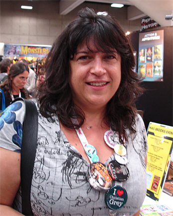 E L James at SDCC