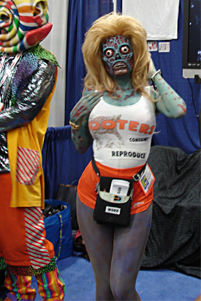 Hooters Zombie