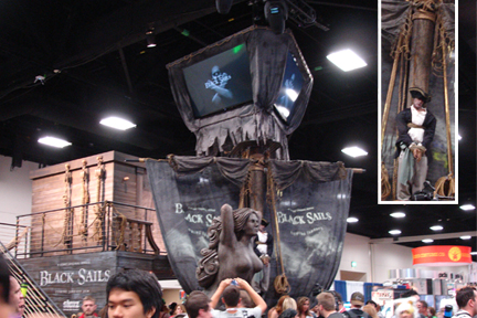 black sails booth