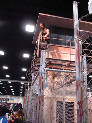 walking dead booth