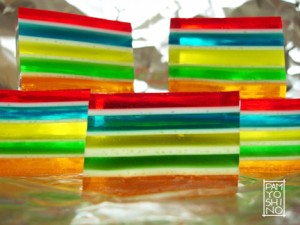ribbon jello backlit
