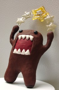 domo star closeup isolated